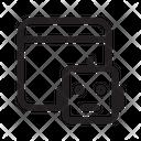 Panel Robot Icon