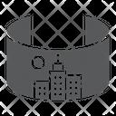 Vr City Virtual Icon