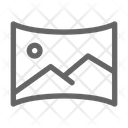 Panorama Picture Gallery Icon
