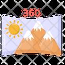 360 Vr Panorama Ar Panorama Icon