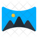 Panorama Image Landscape Icon