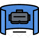 Panorama 3 D Glasses Icon