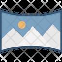 Panorama Image Icon