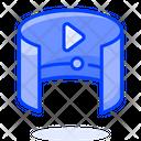 Panorama Video Icon