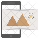 Panoramic Landscape Icon