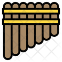 Panpipe Music Instrument Icon