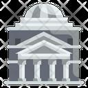Pantheon Landmark Monuments Icon