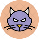 Panther Cartoon Face Icon