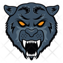 Panther Mascot Panther Face Panther Icon