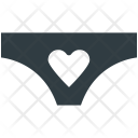 Pantie Heart Sign Icon