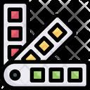 Pantone Palette Colors Icon