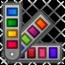 Pantone Color Colour Icon