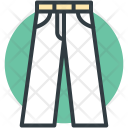 Pants Trousers Bermuda Icon
