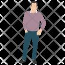 Human Male Papa Icon