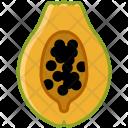 Papaya Tropical Fruit Icon