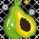Papaya Fruit Healthy Icon