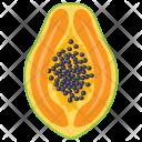 Papaya Fleshy Mango Icon