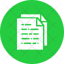 Paper Document Notes Icon