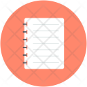 Paper Note Schedule Icon