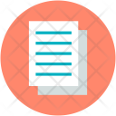 Paper Document Research Icon