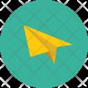Paper Interface Plane Icon