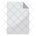 Paper File Document Icon