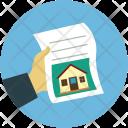 Paper Insurance Loan Icon