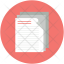 Paper Report Research Icon