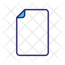Paper File Blank File Icon