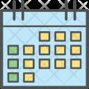 Paper Plan Calendar Icon