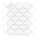 Paper Sheet Page Icon