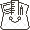 Paper Ruler Design Icon