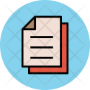 Paper Document Office Icon