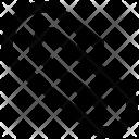 Paper Clip Clinch Icon