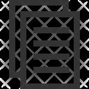 Paper Documentpaper Icon