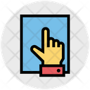 Hand Paper Finger Icon