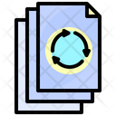 Paper Recycle Nature Icon