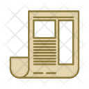 Paper Newspaper Survey Icon