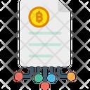 Paper Bitcoin White Paper White Paper Icon
