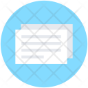 Paper Note Sheet Icon