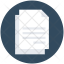 Paper Copy Blank Icon