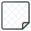 Paper Sheet Blank Icon