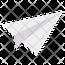 Paper Plane Aircraft Icon