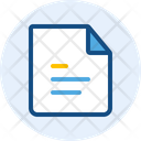 Paper Document Page Icon