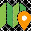 Paper Marker Pin Icon