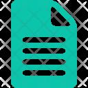 Paper Note File Icon