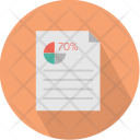 Paper Report Business Icon