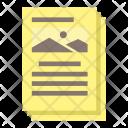 Paper Document Picture Icon