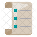 Paper Office Supply Icon