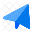 Paper Airplane Paper Message Icon
